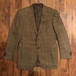 Ermenegildo Zegna Mens 42R blazer 100% wool